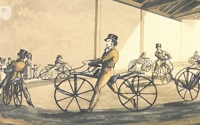 A Ride in to the History of The Bicycle