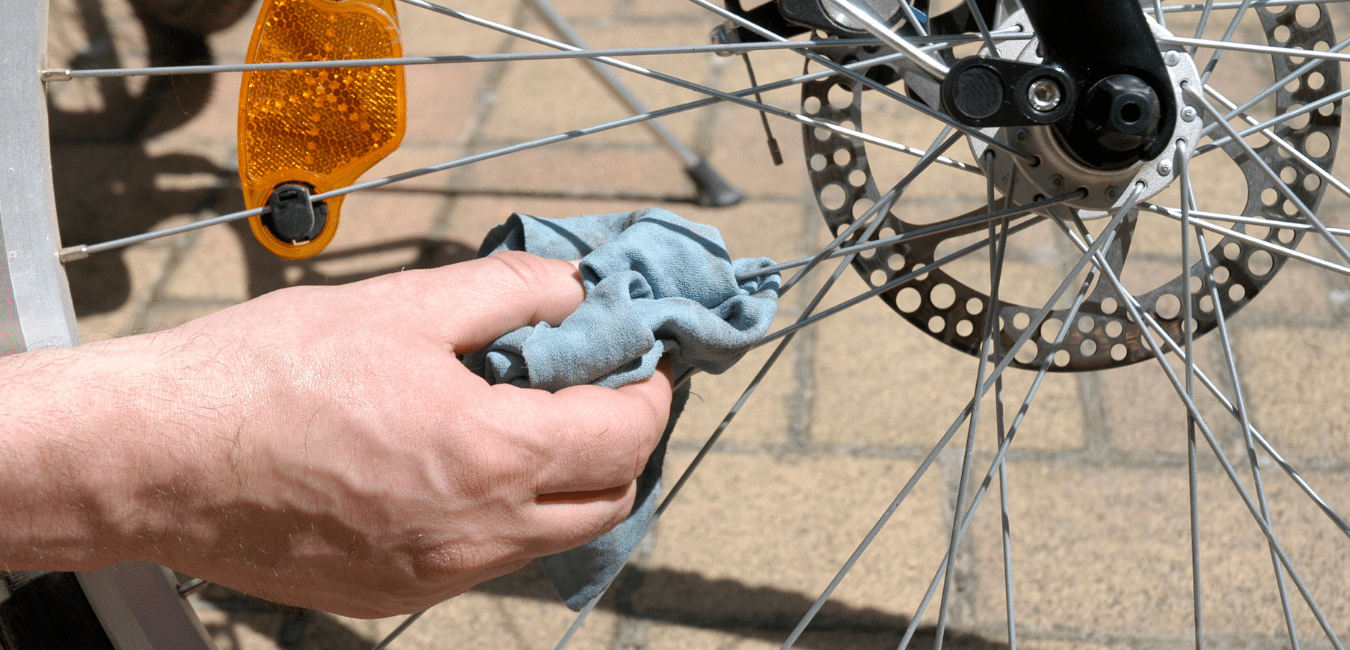 cleaning your bike regularly